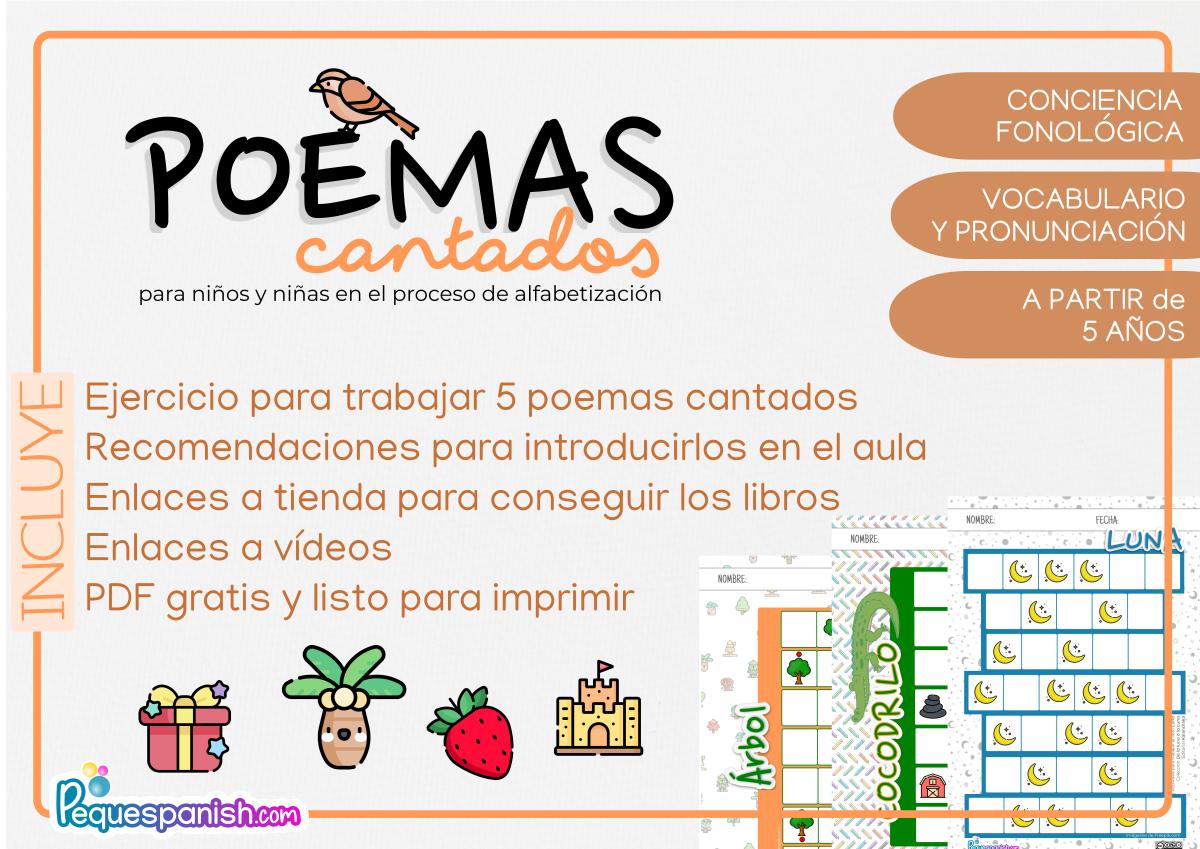Poemas cantados para niños_ELE_PEQUESPANISH
