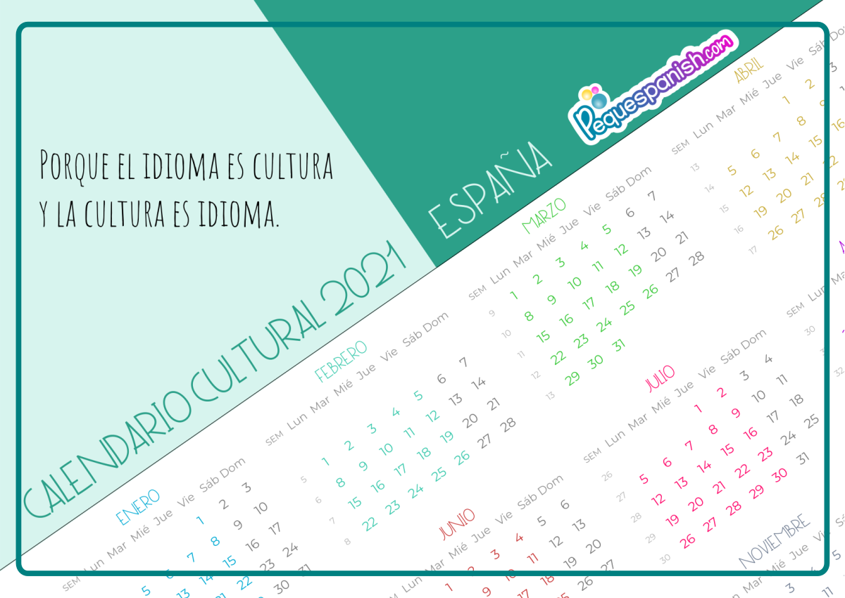 pequespanish calendario cultural 2021