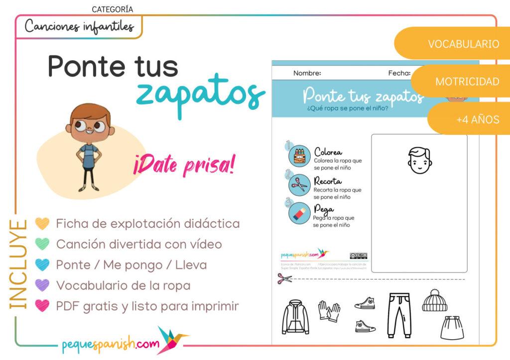 Pequespanish_Ponte tus zapatos