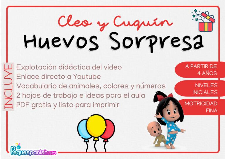 Pequespanish_Cleo y Cuquín-HuevosSorpresa